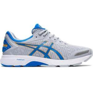 Asics Gel Fortitude 9 - Mens Running Shoes - Piedmont Grey/Directoire Blue