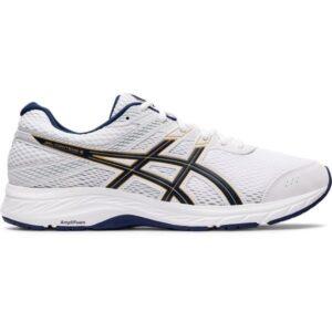 Asics Gel Contend 6 - Mens Running Shoes - White/Peacoat