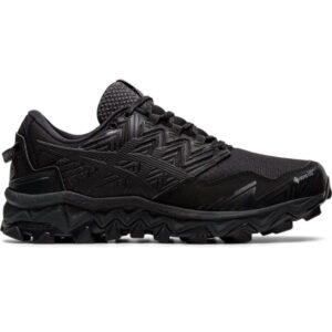 Asics Gel-Fuji Trabuco 8 GTX - Womens Trail Running Shoes - Triple Black