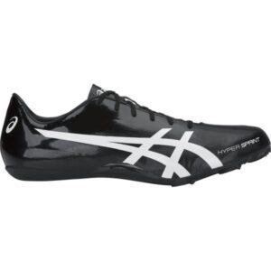Asics Hyper Sprint 7 - Mens Sprint Track Spikes - Black/White