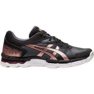 Asics Gel Netburner Academy 8 - Womens Netball Shoes - Black/Rose Gold