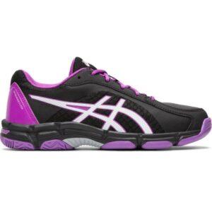 Asics Gel Netburner Super GS - Kids Netball Shoes - Black/White