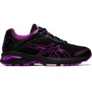Asics Gel Netburner Professional 2 GS - Kids Netball Shoes - Black/Purple