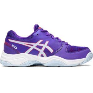 Asics Gel Netburner 20 GS - Kids Netball Shoes - Royal Azel/Soft Sky