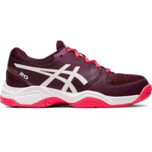 Asics Gel Netburner 20 GS - Kids Netball Shoes - Deep Mars/White