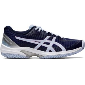 Asics Court Speed FF Clay - Womens Tennis Shoes - Peacoat/Soft Sky
