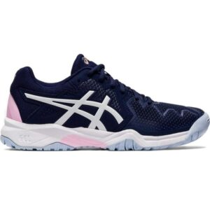 Asics Gel Resolution 8 GS - Kids Tennis Shoes - Peacoat/Cotton Candy