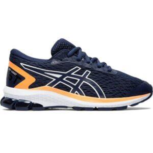 Asics GT-1000 9 GS - Kids Running Shoes - Peacoat/White/Orange