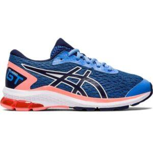 Asics GT-1000 9 GS - Kids Running Shoes - Blue Coast/Peacoat