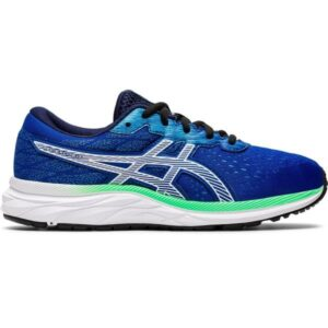 Asics Gel Excite 7 GS - Kids Running Shoes - Asics Blue/White