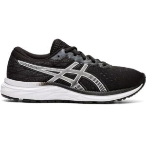 Asics Gel Excite 7 GS - Kids Running Shoes - Black/White