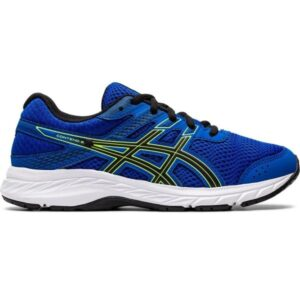 Asics Contend 6 GS - Kids Running Shoes - Tuna Blue/Black