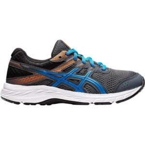 Asics Contend 6 GS - Kids Running Shoes - Carrier Grey/Directoire Blue