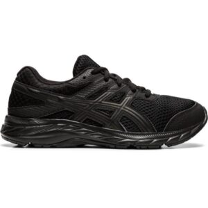 Asics Contend 6 GS - Kids Running Shoes - Triple Black