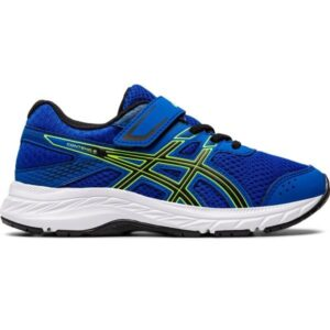 Asics Contend 6 PS - Kids Running Shoes - Tuna Blue/Black