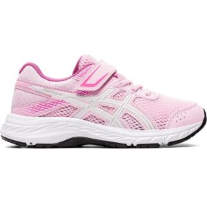 Asics Contend 6 PS - Kids Running Shoes - Cotton Candy/White