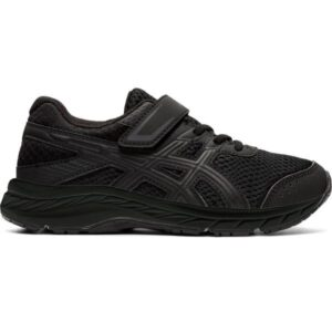 Asics Contend 6 PS - Kids Running Shoes - Triple Black