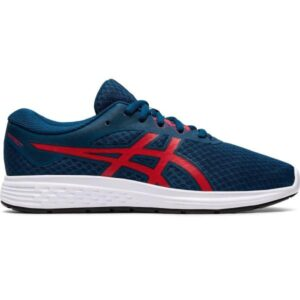 Asics Patriot 11 GS - Kids Running Shoes - Make Blue/Classic Red