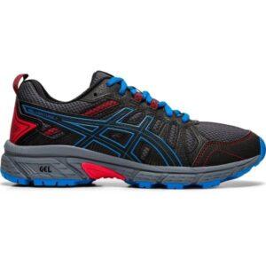 Asics Gel Venture 7 GS - Kids Trail Running Shoes - Black/Directoire Blue