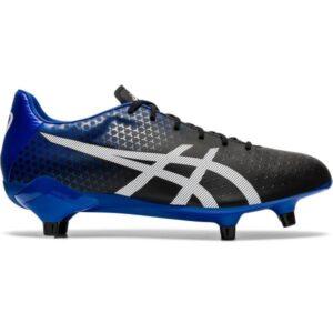 Asics Menace ST - Mens Football Boots - Black/White