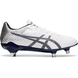Asics Menace ST - Mens Football Boots - White/Peacoat