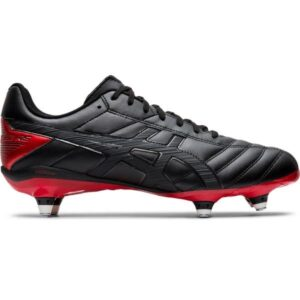Asics Lethal Speed ST 2 - Mens Football Boots - Black/Red