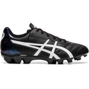 Asics Lethal Tigreor IT GS - Kids Football Boots - Black/White