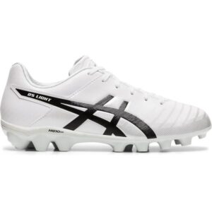 Asics DS Light 3 JR - Kids Football Boots - White/Black