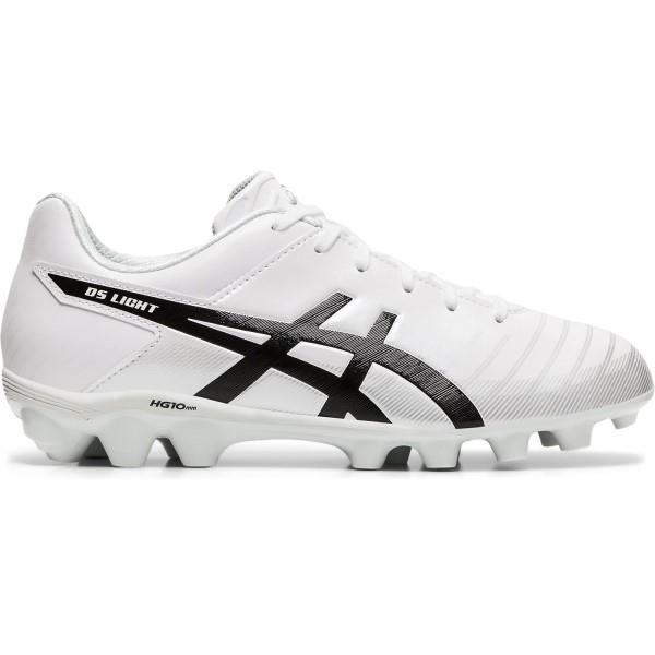 Asics DS Light 3 JR - Kids Football Boots - White/Black