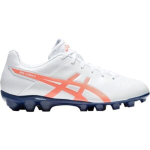 Asics DS Light 3 JR - Kids Football Boots - White/Flash Coral/Navy