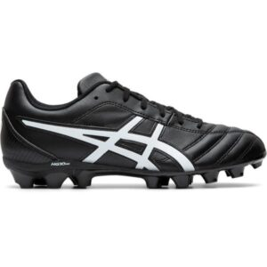 Asics Lethal Flash IT GS - Kids Football Boots - Black/White