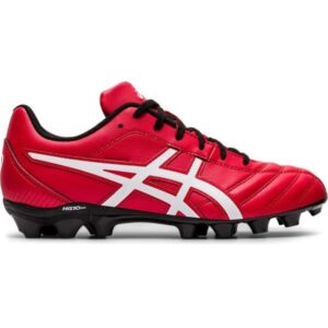 Asics Lethal Flash IT GS - Kids Football Boots - Classic Red/White/Black