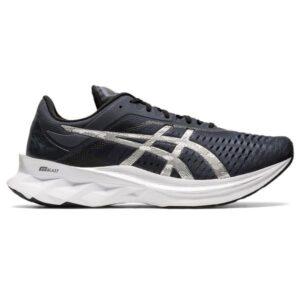 Asics NovaBlast Platinum - Mens Running Shoes - Carrier Grey/Pure Silver