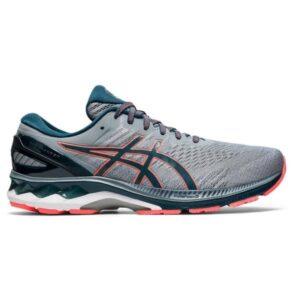 Asics Gel Kayano 27 - Mens Running Shoes - Sheet Rock/ Magnetic Blue