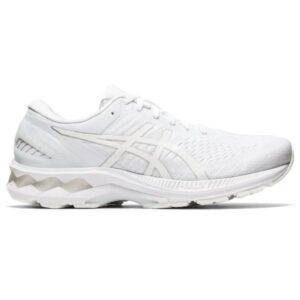 Asics Gel Kayano 27 - Mens Running Shoes - White/White