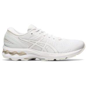 Asics Gel Kayano 27 - Womens Running Shoes - White/White