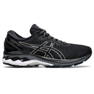 Asics Gel Kayano 27 - Womens Running Shoes - Black/Pure Silver