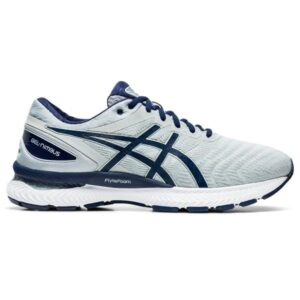 Asics Gel Nimbus 22 - Mens Running Shoes - Piedmont Grey/Peacoat