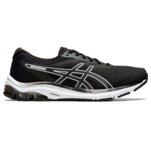 Asics Gel Pulse 12 - Mens Running Shoes - Black/White