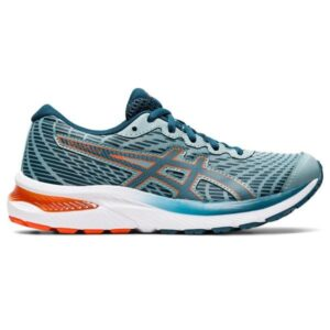Asics Gel Cumulus 22 GS - Kids Running Shoes - Light Steel/Magnetic Blue