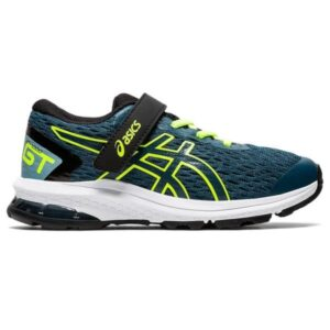 Asics GT-1000 9 PS - Kids Running Shoes - Magnetic Blue/Safety Yellow