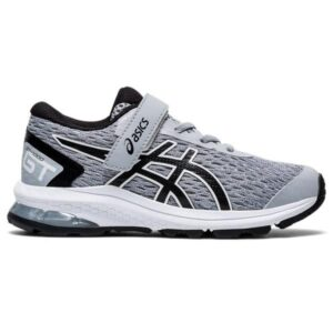 Asics GT-1000 9 PS - Kids Running Shoes - Piedmont Grey/Black