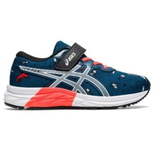 Asics Pre Excite 7 PS - Kids Running Shoes - Mako Blue/White