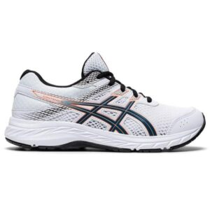 Asics Contend 6 GS - Kids Running Shoes - White/Mako Blue