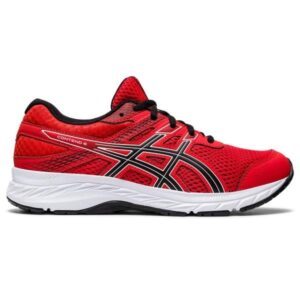 Asics Contend 6 GS - Kids Running Shoes - Fiery Red/Black