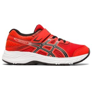 Asics Contend 6 PS - Kids Running Shoes - Fiery Red/Black