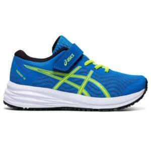 Asics Patriot 12 PS - Kids Running Shoes - Directoire Blue/Black