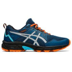 Asics Gel Venture 8 GS - Kids Trail Running Shoes - Mako Blue/Piedmont Grey