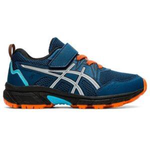 Asics Gel Venture 8 PS - Kids Trail Running Shoes - Mako Blue/Piedmont Grey