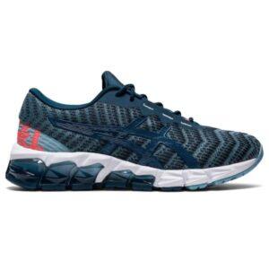 Asics Gel Quantum 180 5 GS - Kids Sneakers - Light Steel/Magnetic Blue